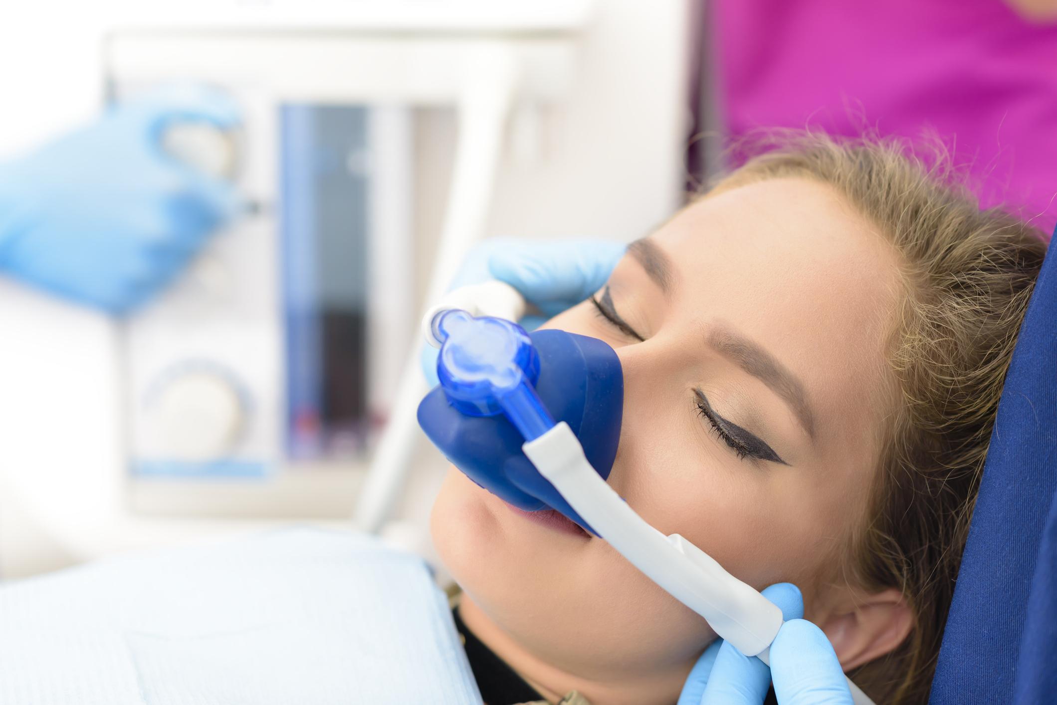 sedación consciente en el dentista
